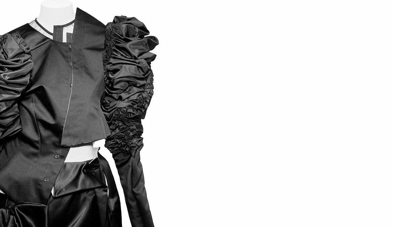 Interruption Ensemble, Comme des Garçons (Japanese, founded 1969), fall/winter 2004–5; Courtesy Comme des Garçons. Image courtesy of The Metropolitan Museum of Art, Photo © Nicholas Alan Cope