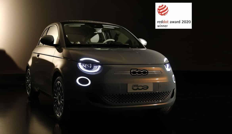 """Neuer Fiat 500 mit Designpreis """"Red Dot Award"""" ausgezeichnet, Foto: obs/FIAT/FCA Group"""