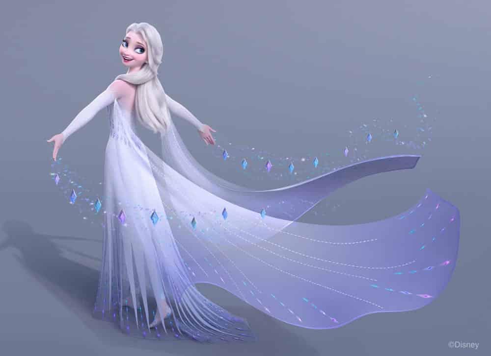 Das finale Ballkleid von Elsa, Foto: The Walt Disney Company GSA