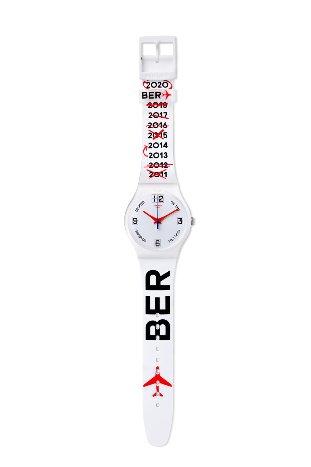 "Swatch ""DELAYED"", Foto: obs/Swatch"