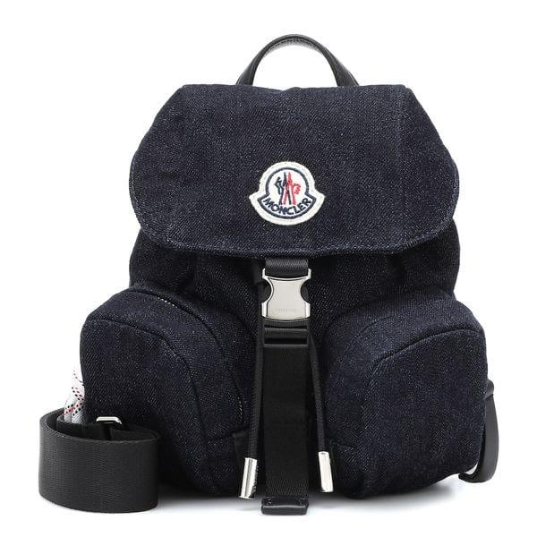 Rucksack Dauphine Mini aus Denim von Mocler