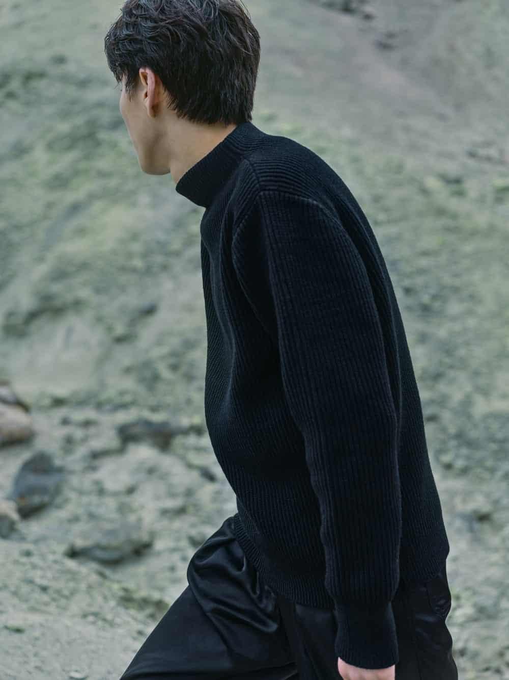 Minimalistisch, vegan, zukunftsweisend: The Sweater von Goldwin, Foto: Goldwin