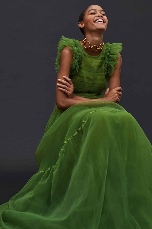 Tüllkleid, Foto: hm.com