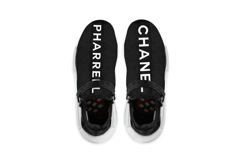 Chanel x Pharrell x adidas NMD Hu, Foto: Adidas