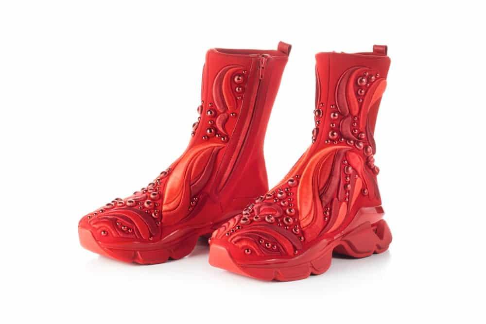 Christian Louboutin Bespoke Men's Sneaker, Foto: Sotheby's