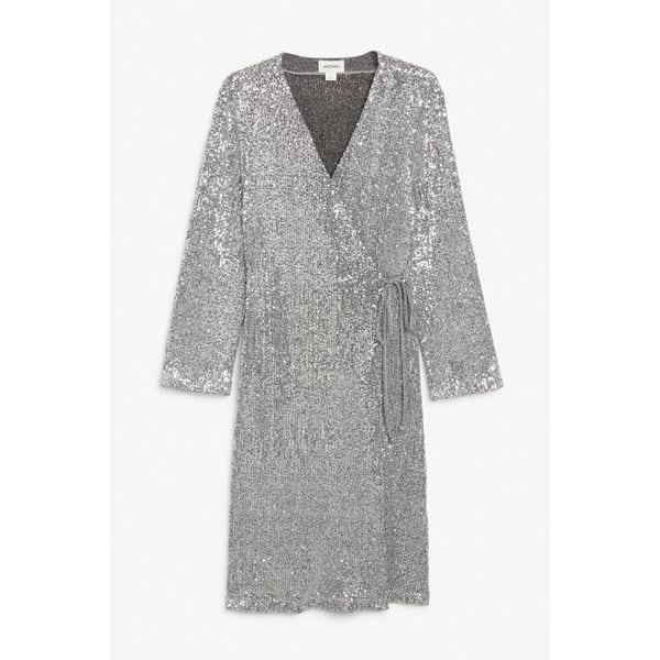 Kleid in Silber von Monki