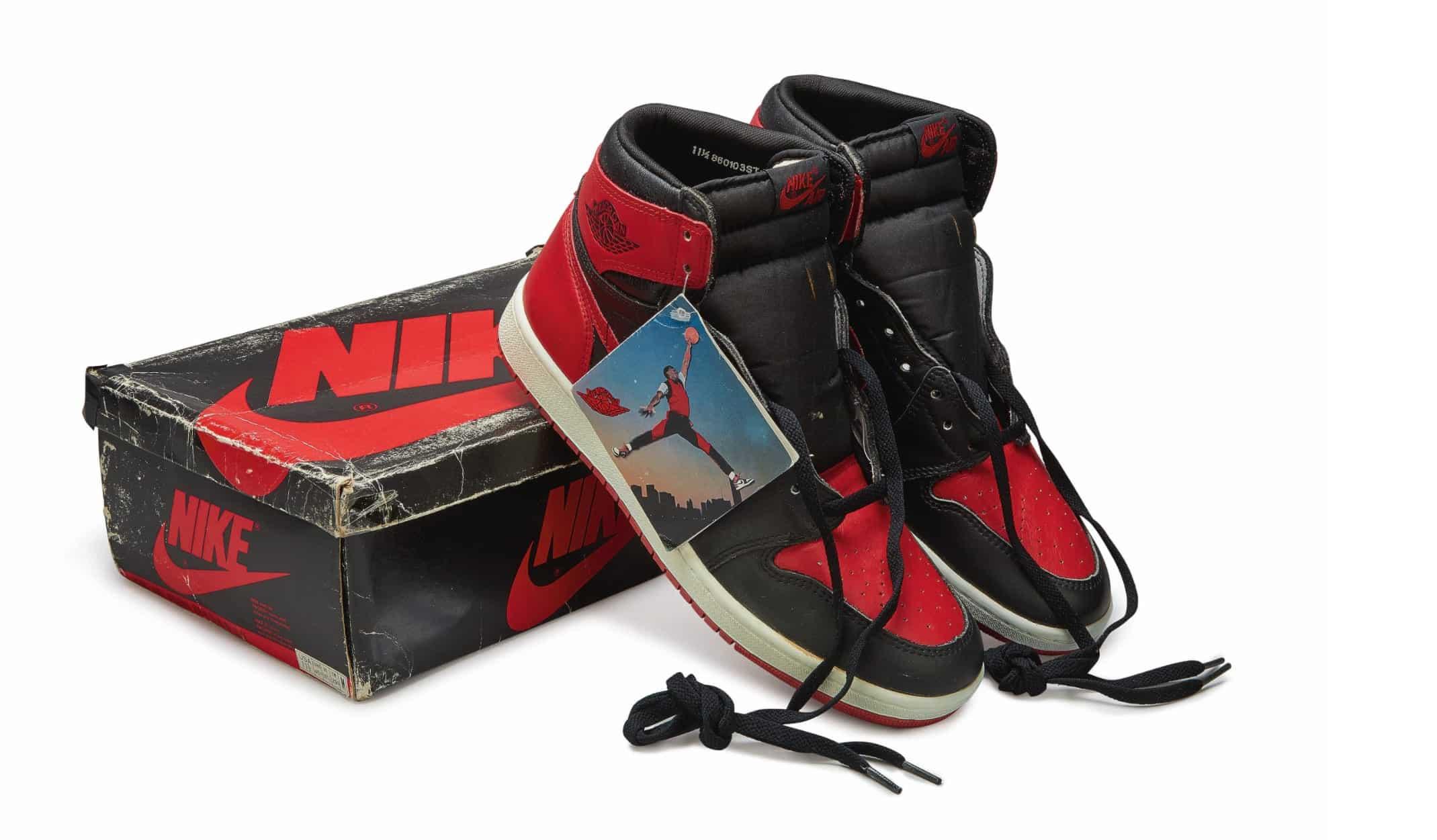 Nike Air Jordan 1 High OG 'Bred', Foto: Sotheby's