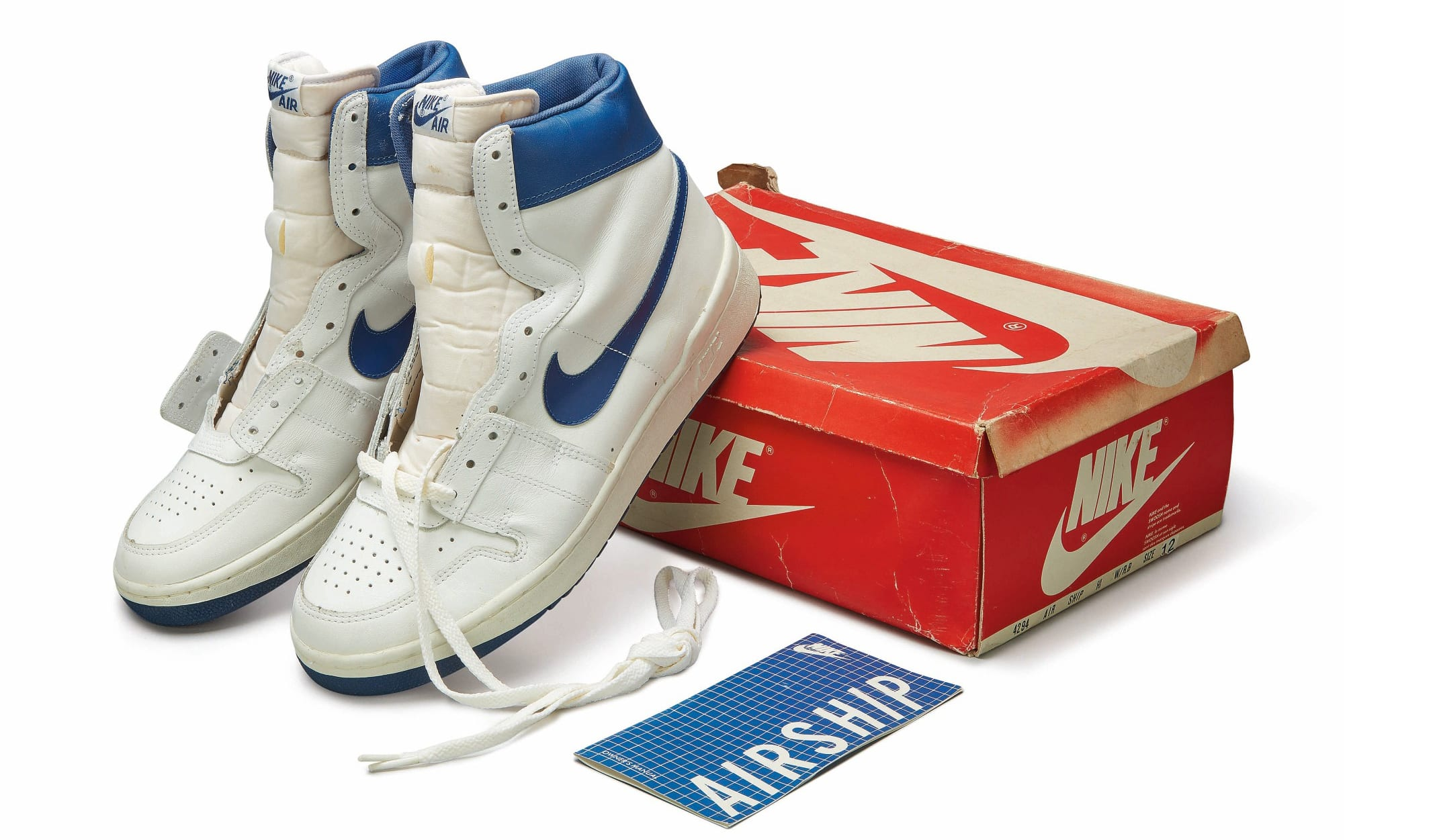 Nike Air Ship 1984, Foto: Sotheby's