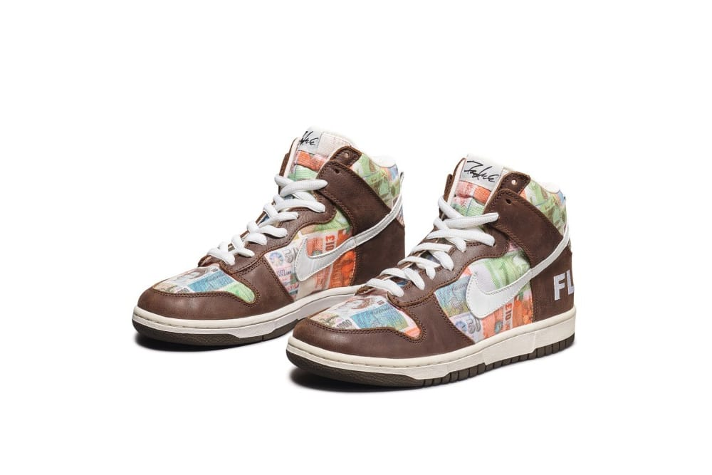 Nike Dunk High Pro SB 'FLOM', Foto: Sotheby's