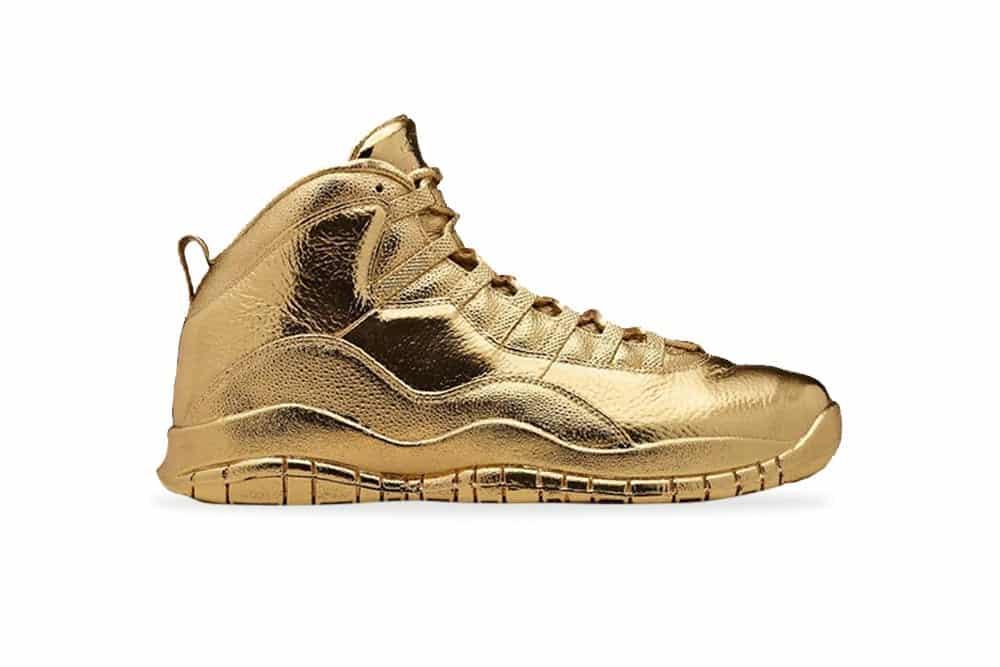 Solid Gold OVO x Air Jordans, Foto: jordan.com