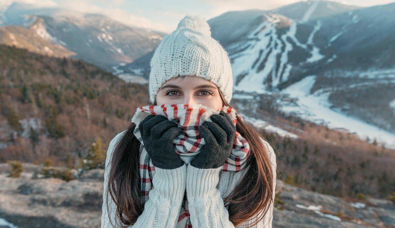 Ein Winter ohne Schal? Nicht auszuhalten. Foto: Alex Iby / Unsplash