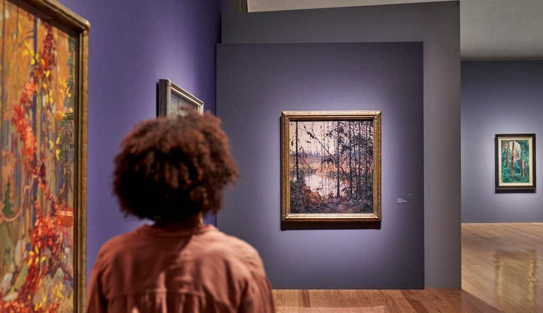 """Die Ausstellung """"Magnetic North"""" in der Schirn, Foto: Schirn Kunsthalle Frankfurt"""