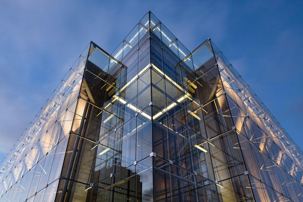 Die Glasfassade des Grand Théâtre de Québec, Foto: Stephane Groleau