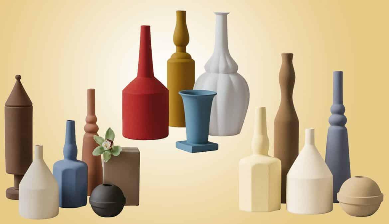 Vasen aus der Kollektion von Le Morandine, Foto: Le Morandine