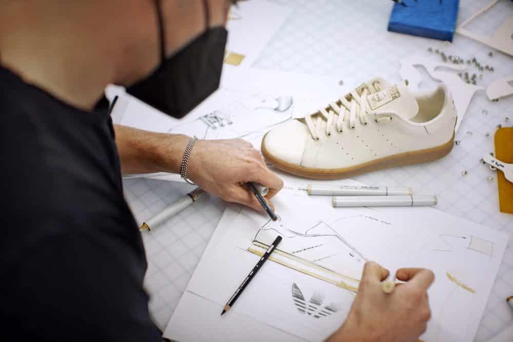 Der Stan Smith Mylo in der Entwicklung, Foto: adidas.com