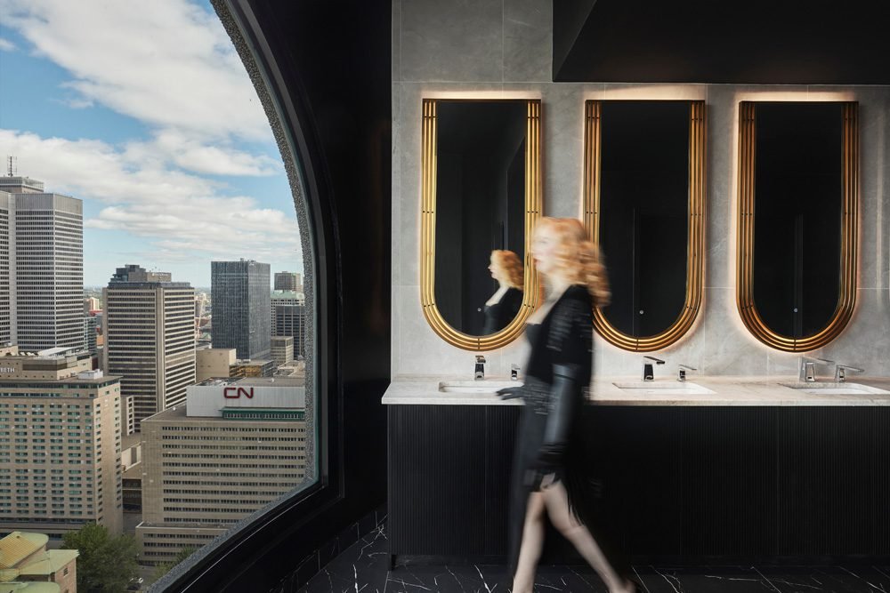 Badezimmer mit Aussicht, Foto: MAXIME BROUILLET