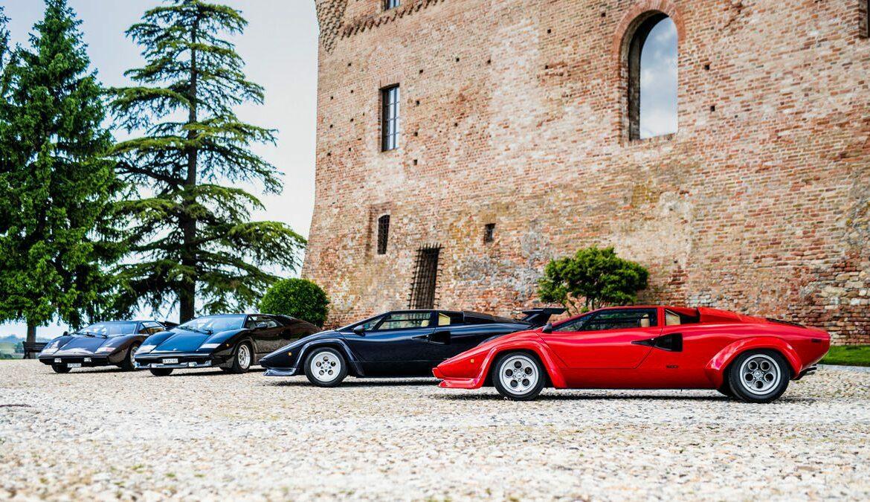 Die 5 Generationen des Lamborghini Countach LP 500, Foto: Lamborghini