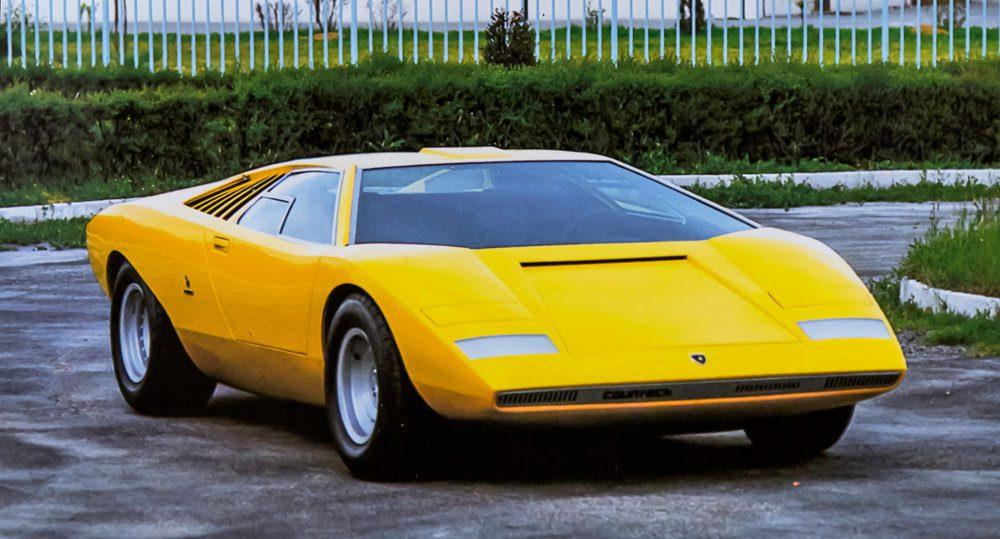 Der Lamborghini Countach LP 500, Foto: Lamborghini