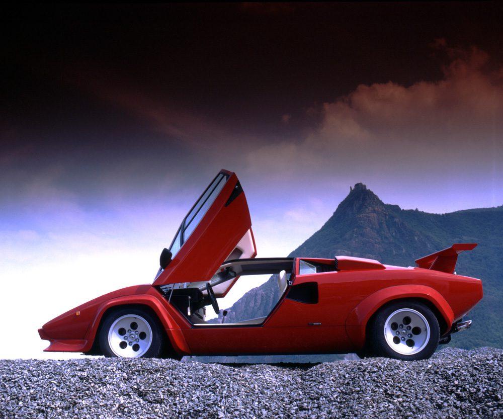 Der Lamborghini Countach LP 5000 Quattro valvole, Foto: Lamborghini