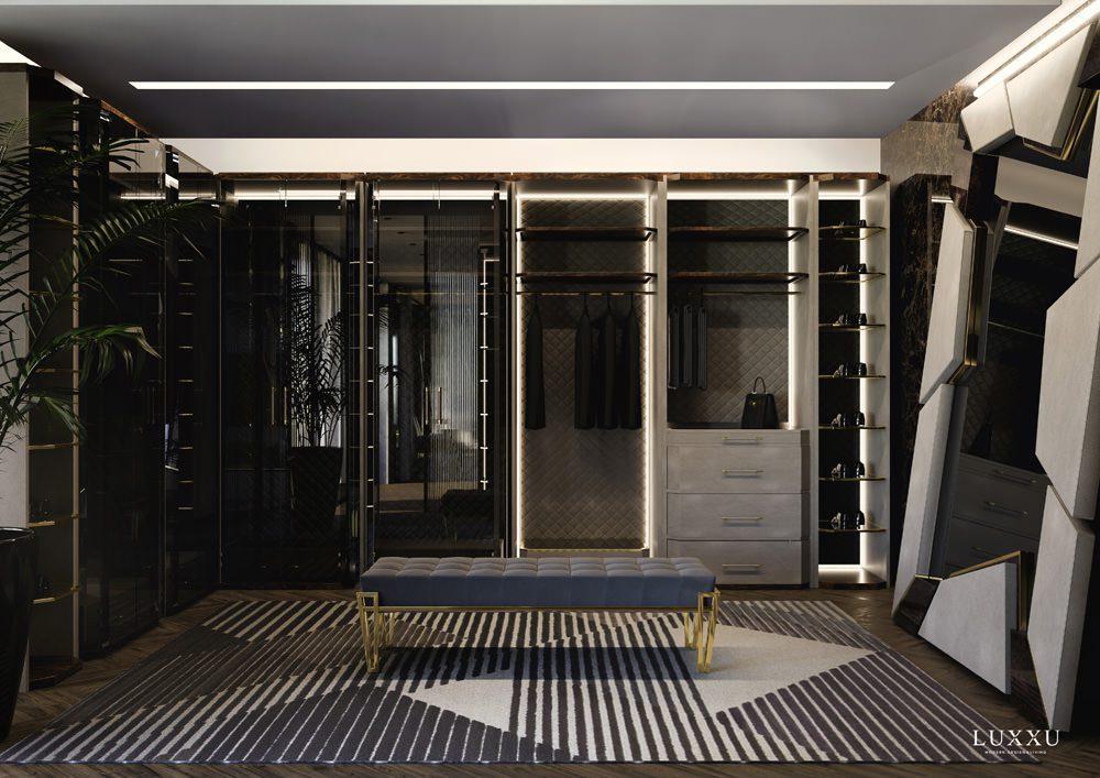 Ankleide-Bereich der Master-Suite, Foto: LUXXU