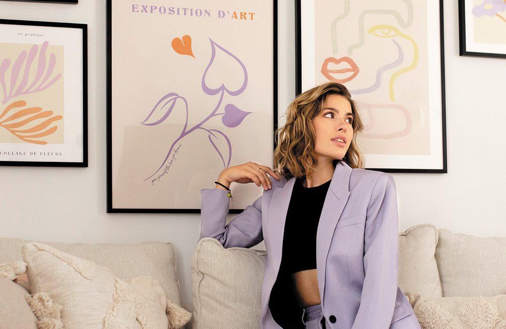 Zoé Tondut - Desenio-Botschafterin 2021 für Frankreich, Foto: Desenio
