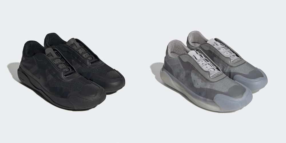 Die beiden Farbversionen des A+P Luna Rossa 21, Foto: adidas / Prada